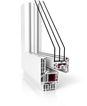 v82 modern design biale otwarte