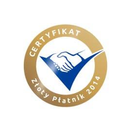 zloty platnik 2014