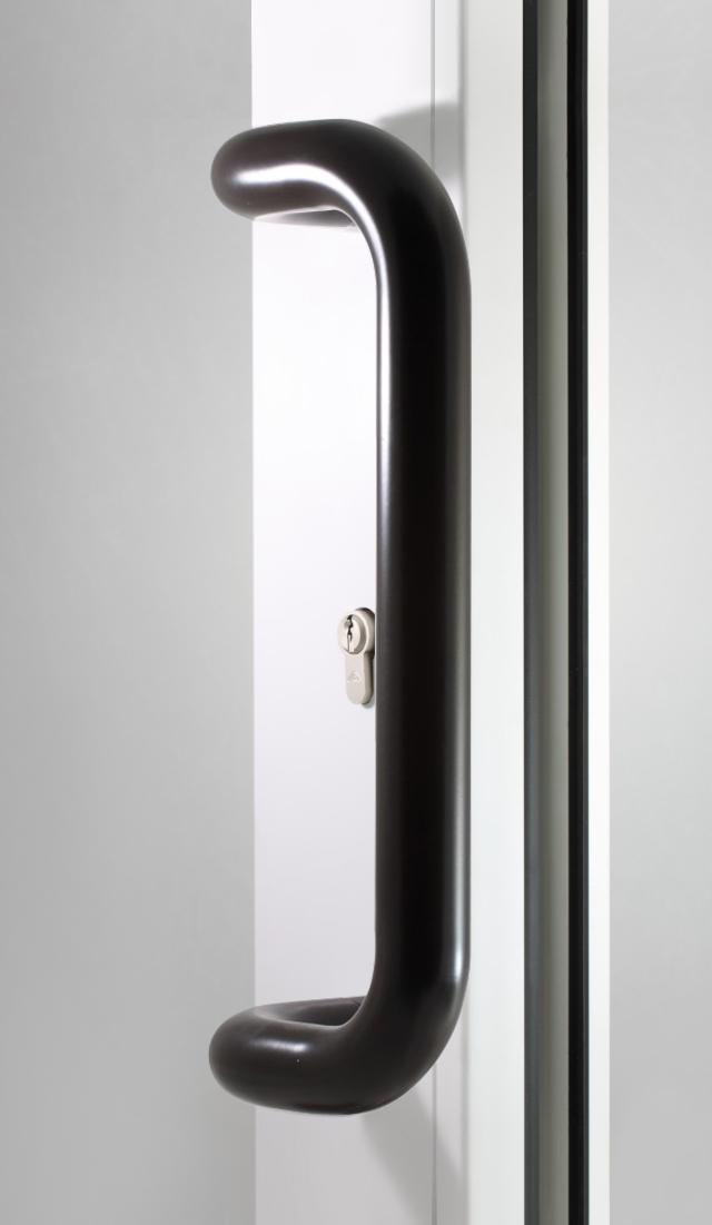 Pochwyt drzwiowy brąz