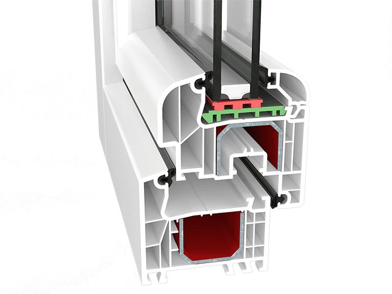Okna PCV Aluplast AS 4000 Rondo