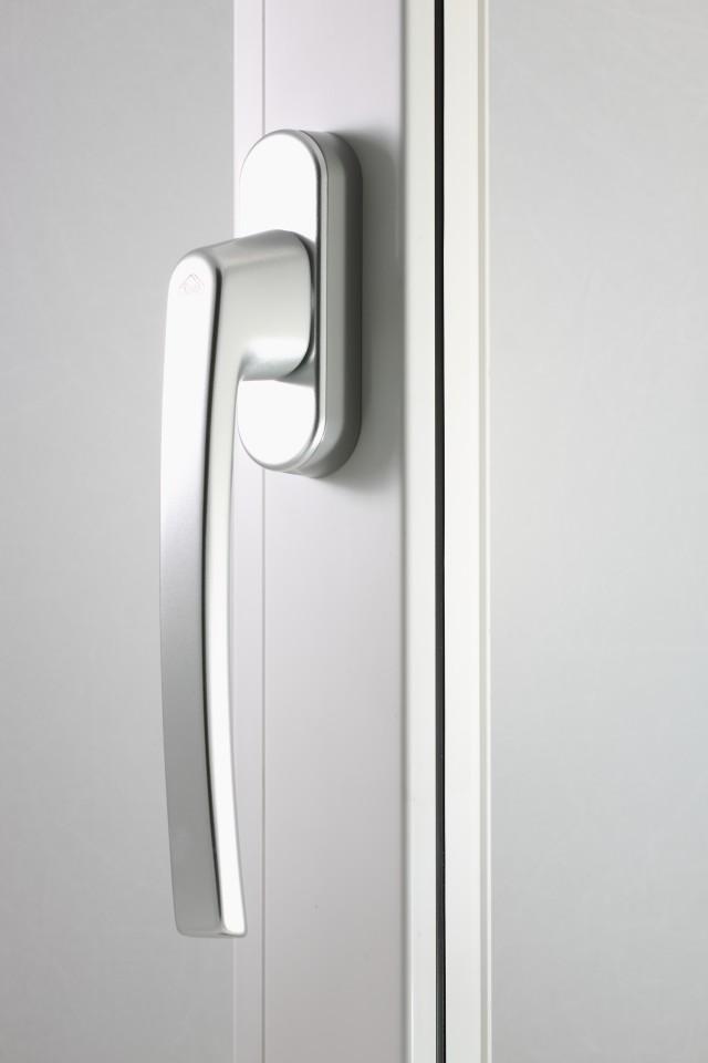 Klamka Patio Automatic srebrna