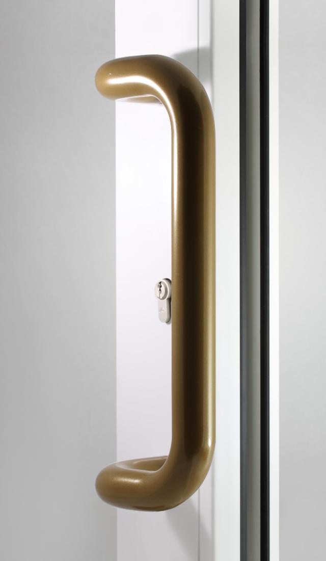 Pochwyt drzwiowy stare złoto
