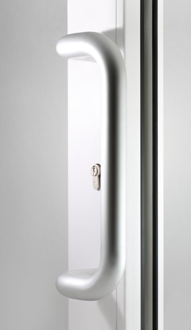 Pochwyt drzwiowy tytan